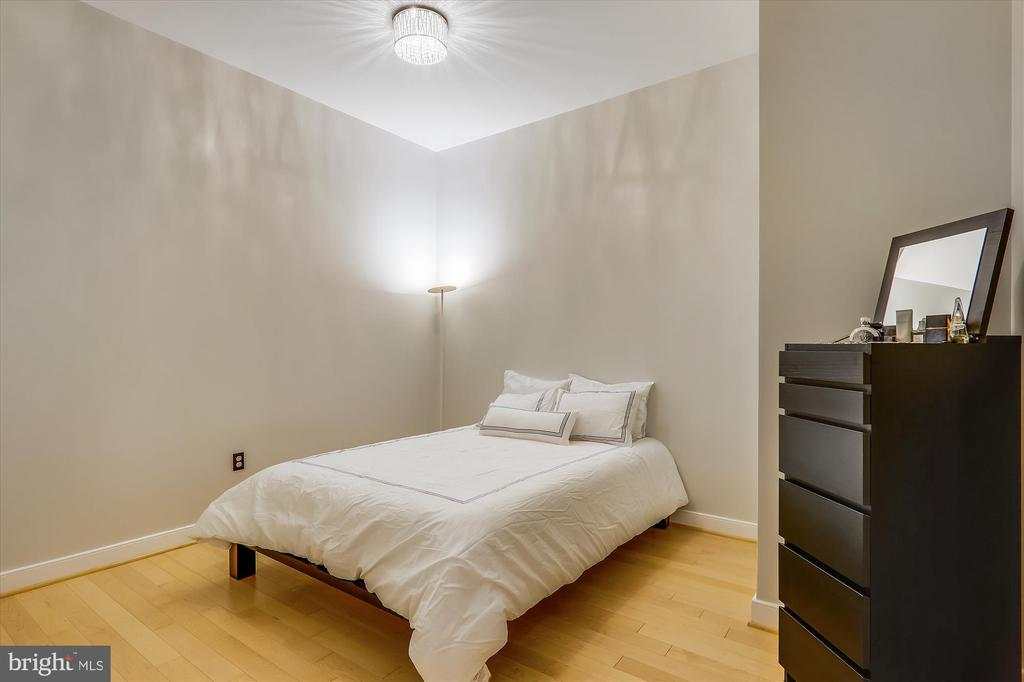 Den with custom barn doors - 631 D ST NW #129, WASHINGTON