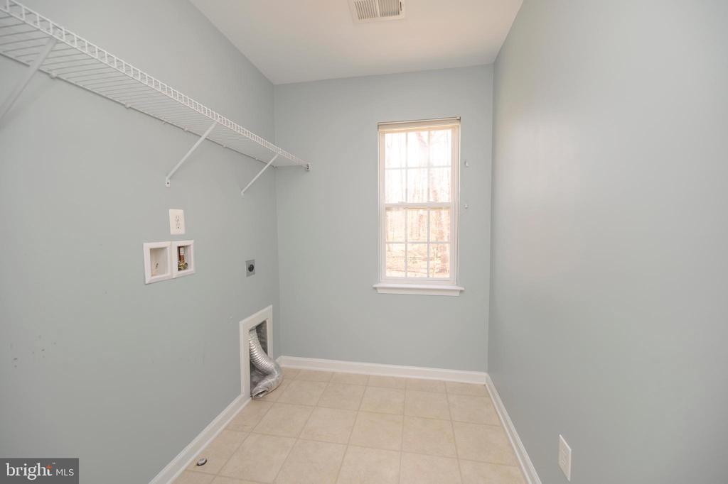 Laundry Room upper level - 10111 BROOKRUN CT, SPOTSYLVANIA