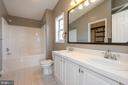 Large master bathroom - 7504 COVE POINT WAY, ELKRIDGE