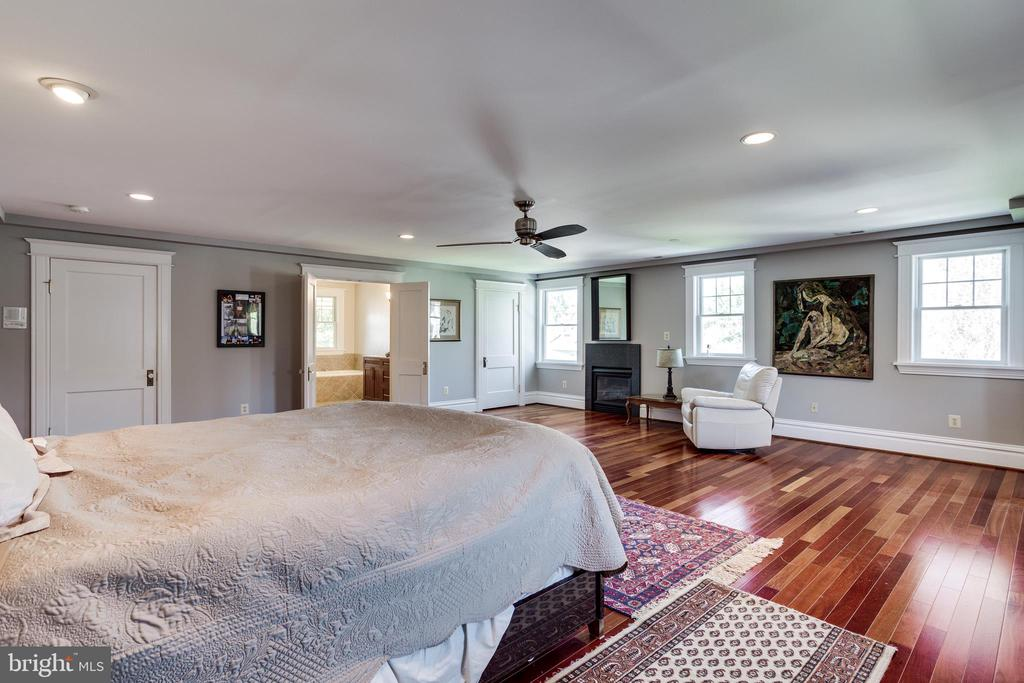 Master Bedroom (Gas Fireplace) - 4311 BRADLEY LN, CHEVY CHASE
