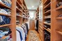 Master Bedroom (Custom Closet) - 4311 BRADLEY LN, CHEVY CHASE