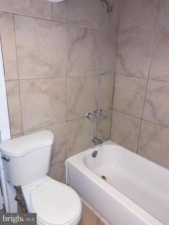 Basement bathroom - 5009 37TH AVE, HYATTSVILLE