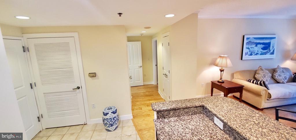 Foyer / guest closet & utility  closet - 777 7TH ST NW #518, WASHINGTON