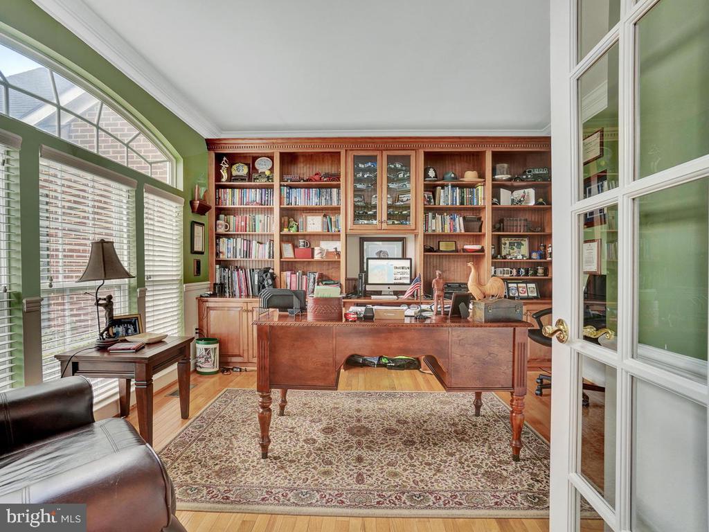 Main Level Office w/ French Doors - 11206 ANGUS WAY, WOODSBORO