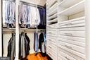 Master Bedroom Closet - 1 SCOTT CIR NW #9, WASHINGTON