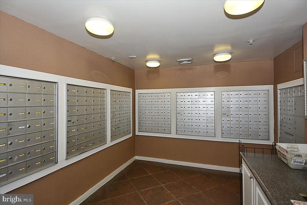 Mailbox  Room - 501 HUNGERFORD DR #157, ROCKVILLE