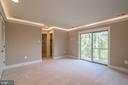 Master bedroom. - 344 SADDLE RD, NEW MARKET