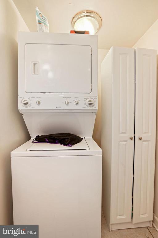 Lower Level Washer/Dryer - 1009 OTIS PL NW, WASHINGTON