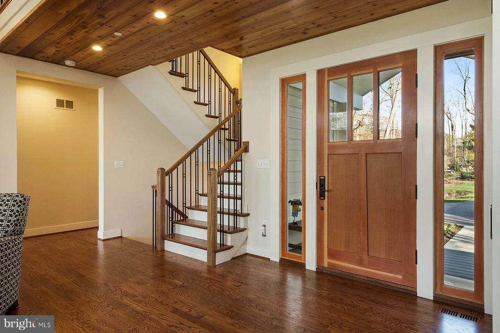 From the main level, admire the custom railing - 1696 BEECH LN, ANNAPOLIS