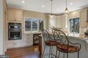 Breakfast bar on the island - 1696 BEECH LN, ANNAPOLIS