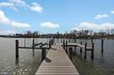 Private pier has a 15,000 lb boat lift - 1696 BEECH LN, ANNAPOLIS