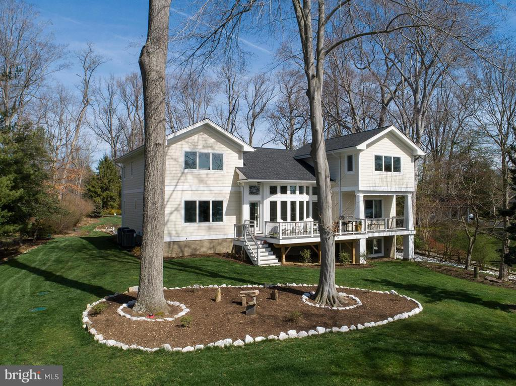 Waterside of home - 1696 BEECH LN, ANNAPOLIS