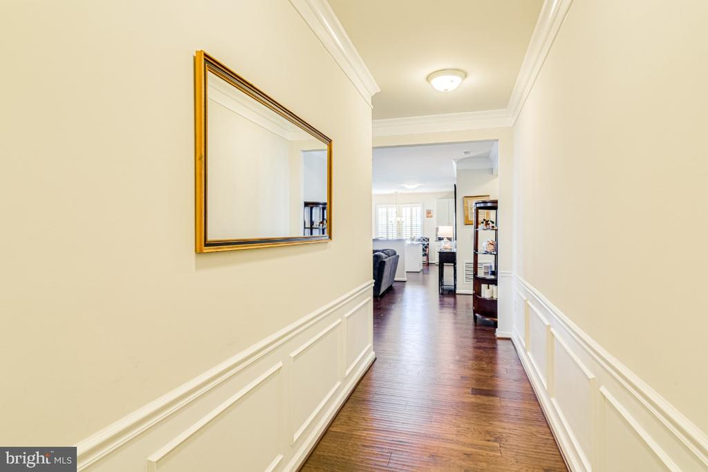 Entry hallway to unit #205 - 20570 HOPE SPRING TER #205, ASHBURN