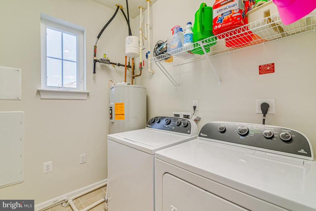 Washer and dryer in unit. - 20570 HOPE SPRING TER #205, ASHBURN