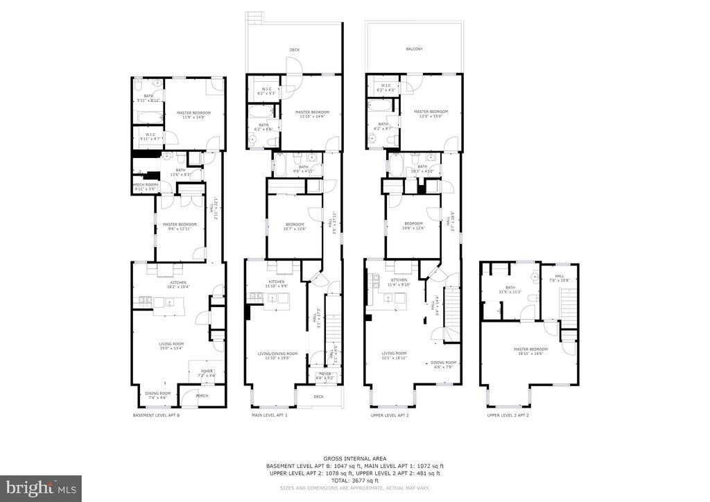 Floor Plan - 1330 IRVING ST NW, WASHINGTON