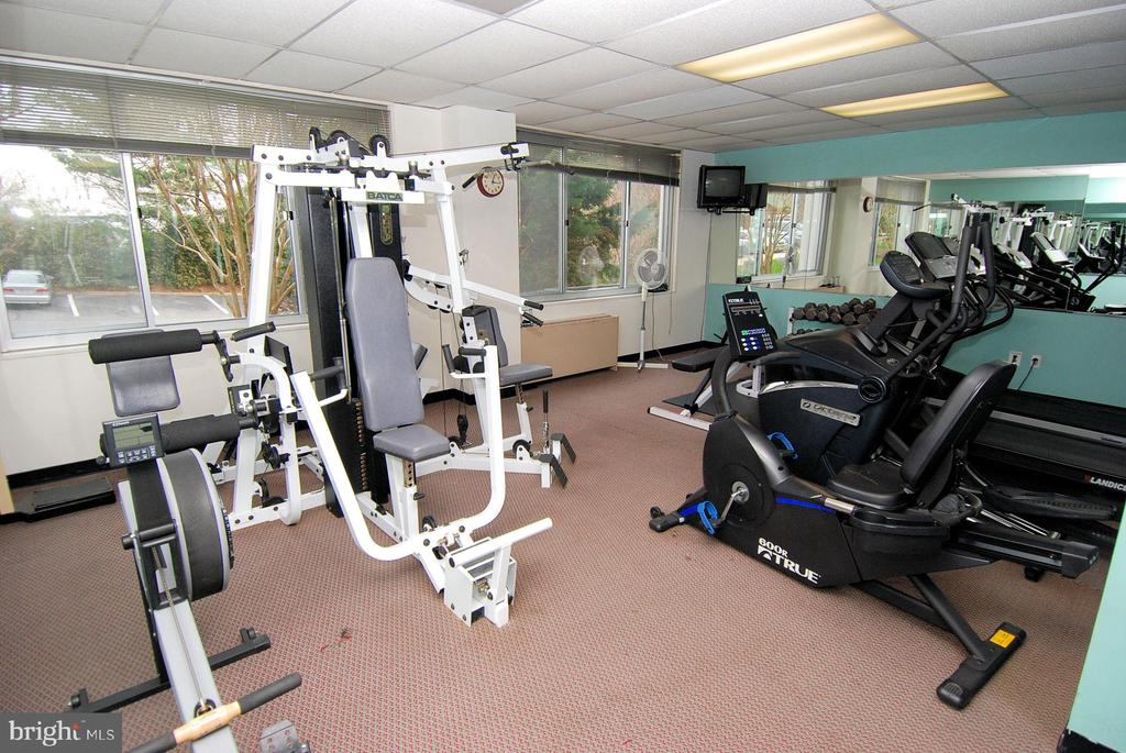 Fitness Center w/Sauna - 11801 ROCKVILLE PIKE #1405, ROCKVILLE