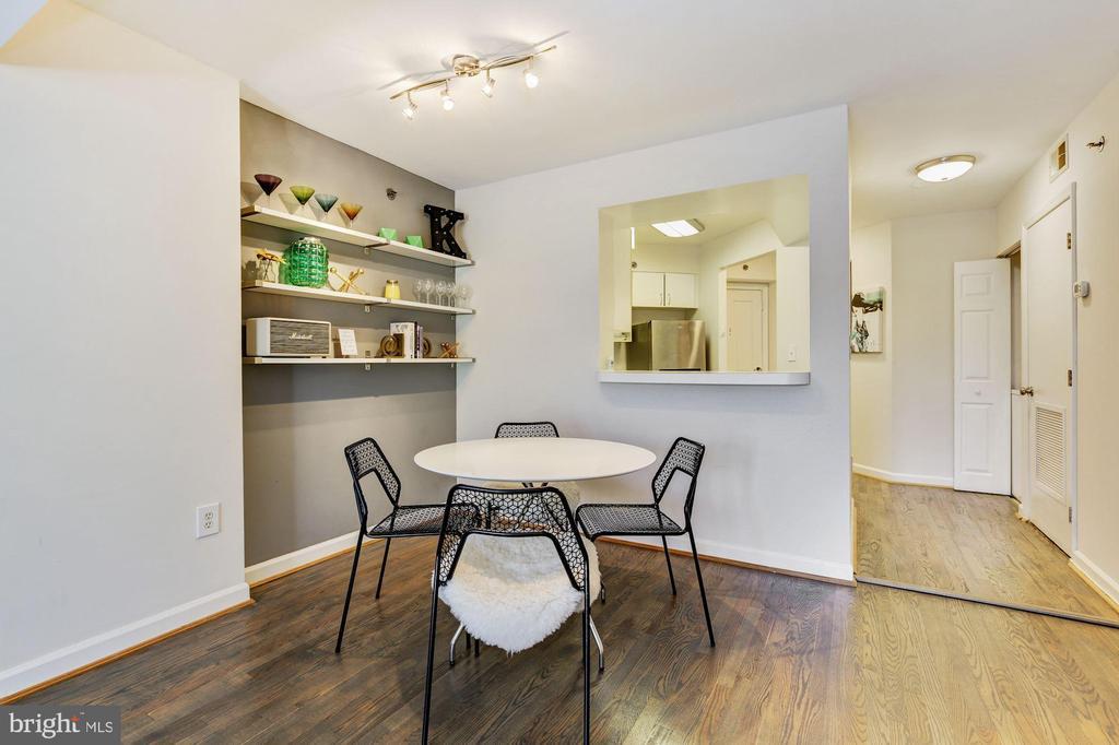 Dining Room - 601 PENNSYLVANIA AVE NW #211, WASHINGTON