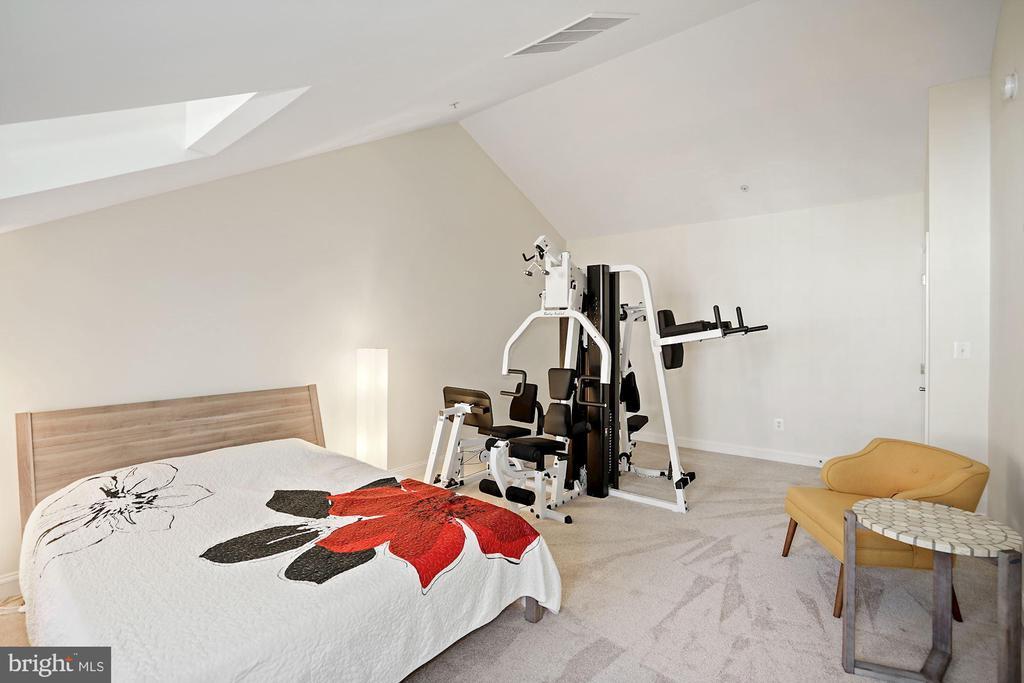 4th Level Bedroom w/ Walk In Closet - 308 S PAYNE ST, ALEXANDRIA