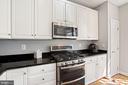 Gourmet Kitchen w/ Breakfast Area and Balcony - 308 S PAYNE ST, ALEXANDRIA