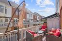 Second Level Balcony off of the Kitchen - 308 S PAYNE ST, ALEXANDRIA