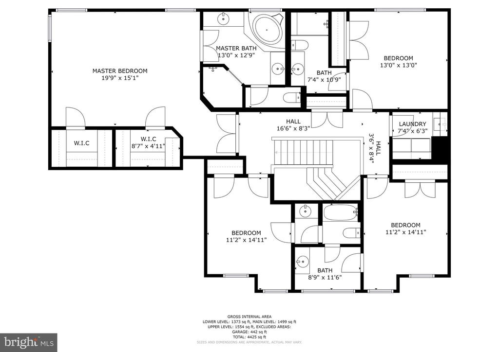 Upper level - 42580 FAWN MEADOW PL, CHANTILLY