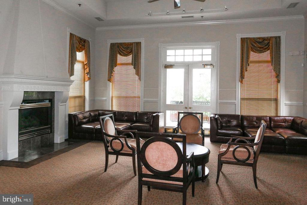 Party room - 1571 SPRING GATE DR #6314, MCLEAN