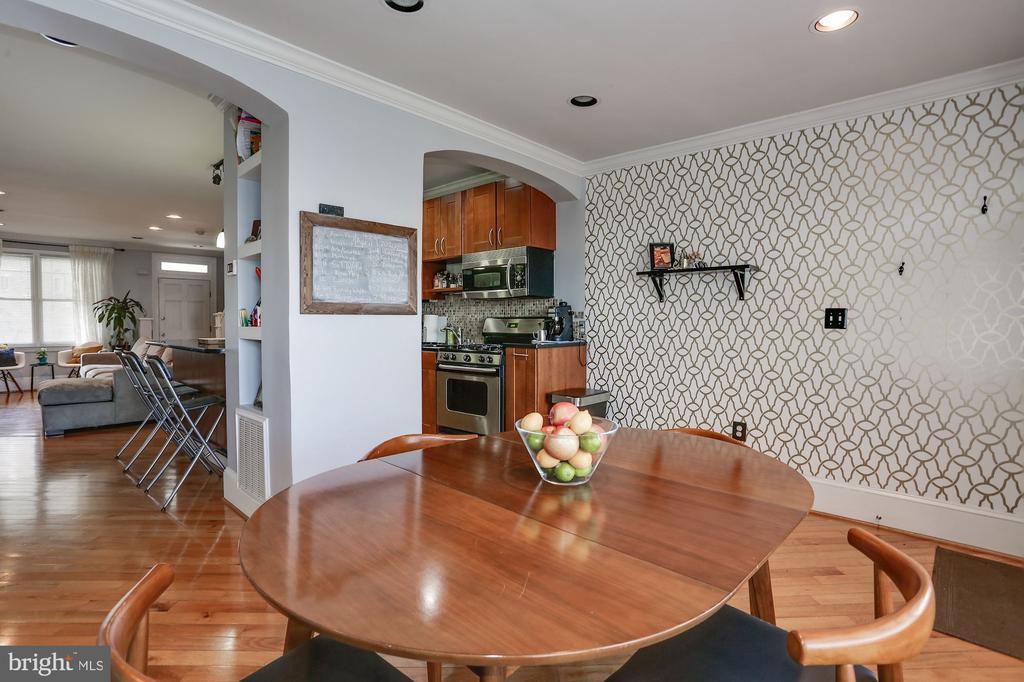 Dining Room - 618 EVARTS ST NE, WASHINGTON