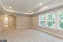 Large master suite. - 3012 (LOT 3) THURSTON RD., FREDERICK