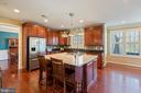 Kitchen with SS appliances - 20240 MCNAMARA RD, POOLESVILLE