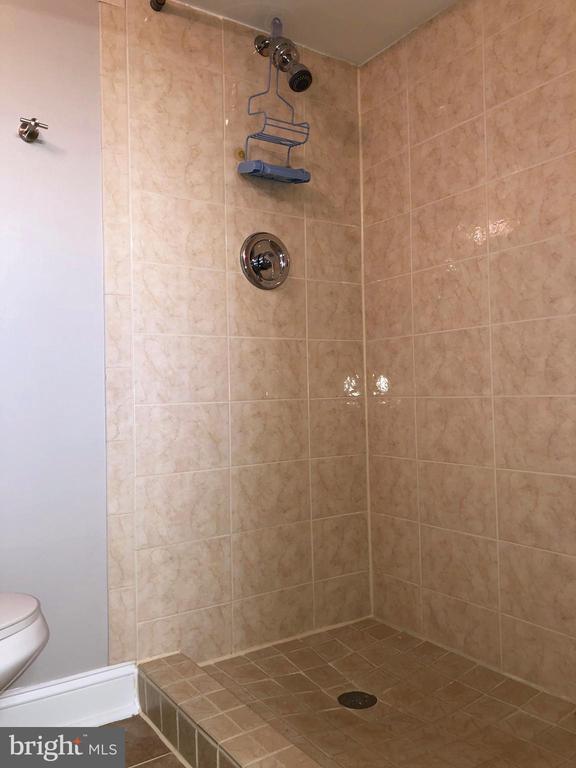 Basement full bath - 3536 S STAFFORD ST #A2, ARLINGTON