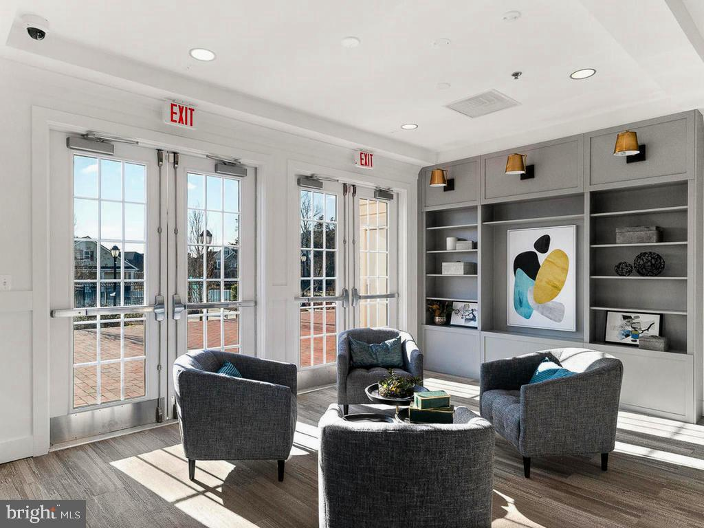 Newly decorated Community Social Room - 41488 DEER POINT CT, ALDIE