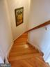 Stairs to lower level - 43592 MERCHANT MILL TER, LEESBURG
