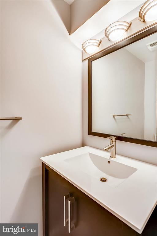 Lower Level Half Bath - 6308 MOUNTAIN BRANCH CT, BETHESDA