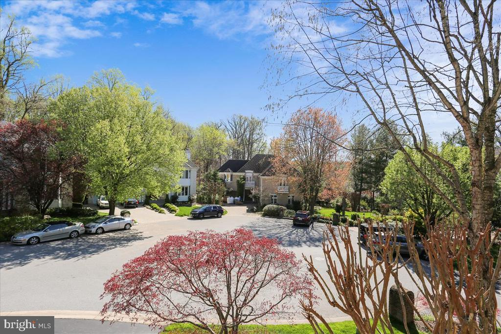 View From Upper Level Front Balcony - 6308 MOUNTAIN BRANCH CT, BETHESDA