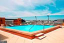 Large pool and deck area - 631 D ST NW #726, WASHINGTON