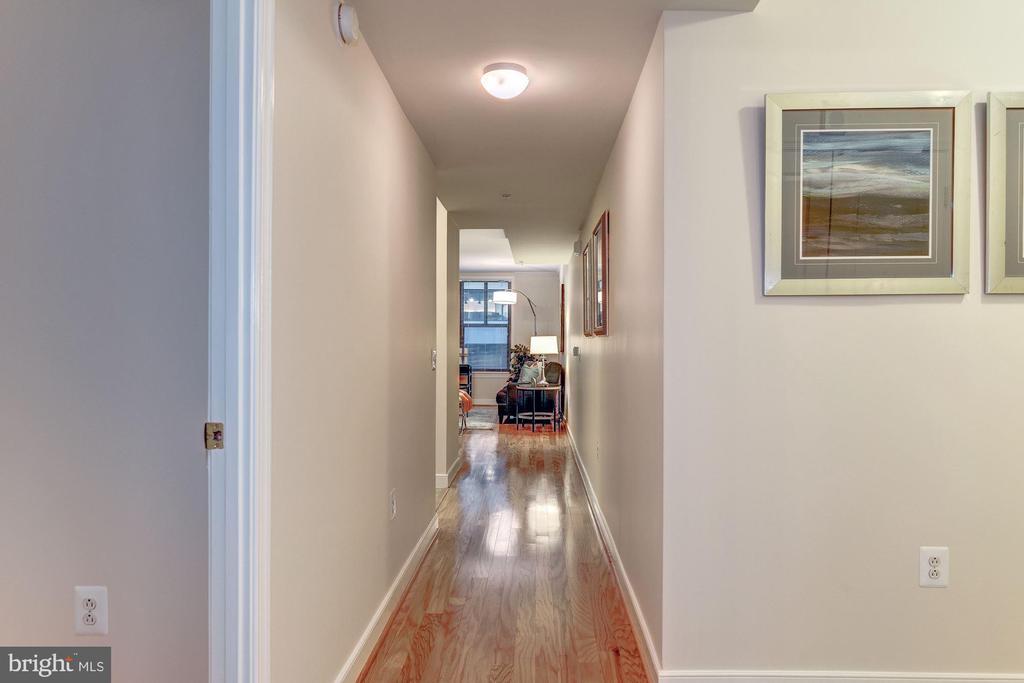 Hallway through - 631 D ST NW #726, WASHINGTON