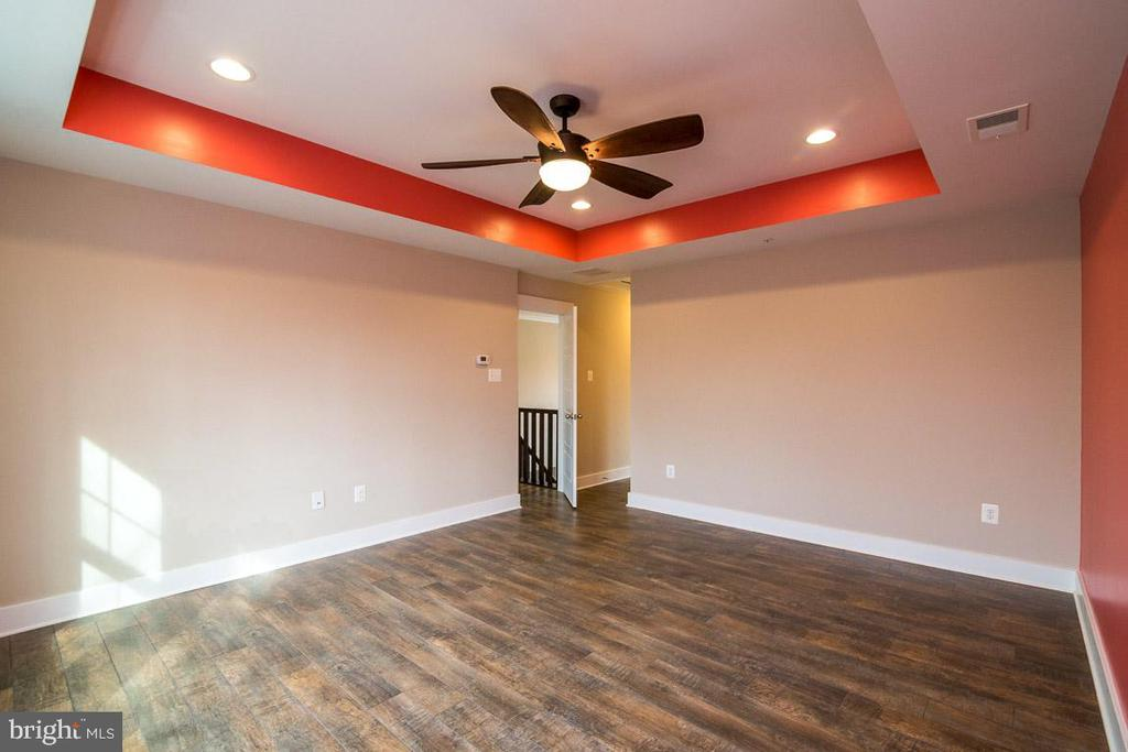 Master with tray ceiling - Custom paint to suite - 7136 MASTERS RD, NEW MARKET