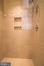 Luxurious shower. - 7136 MASTERS RD, NEW MARKET