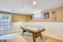Basement Game Room (optional 5th bedroom) - 606 OAK KNOLL TER, ROCKVILLE