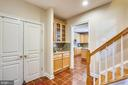 Back (second) Staircase - 606 OAK KNOLL TER, ROCKVILLE