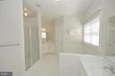 Master bath - 19771 GREGGSVILLE RD, PURCELLVILLE