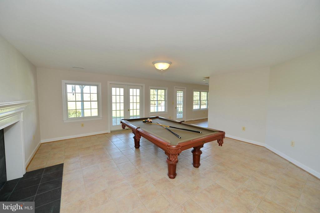 Lower level family room - 19771 GREGGSVILLE RD, PURCELLVILLE