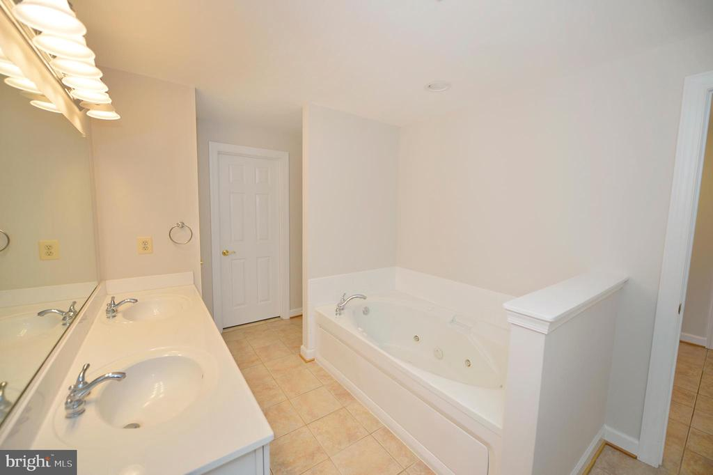 Lower level full bath and walk in closet - 19771 GREGGSVILLE RD, PURCELLVILLE