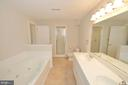 Lower level full bath - 19771 GREGGSVILLE RD, PURCELLVILLE