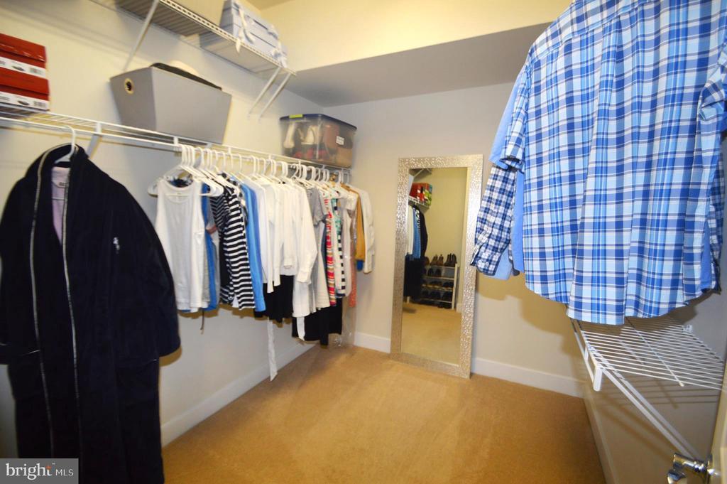 Master Bedroom Closet - 41121 ROCKY BOULDER CT, ALDIE