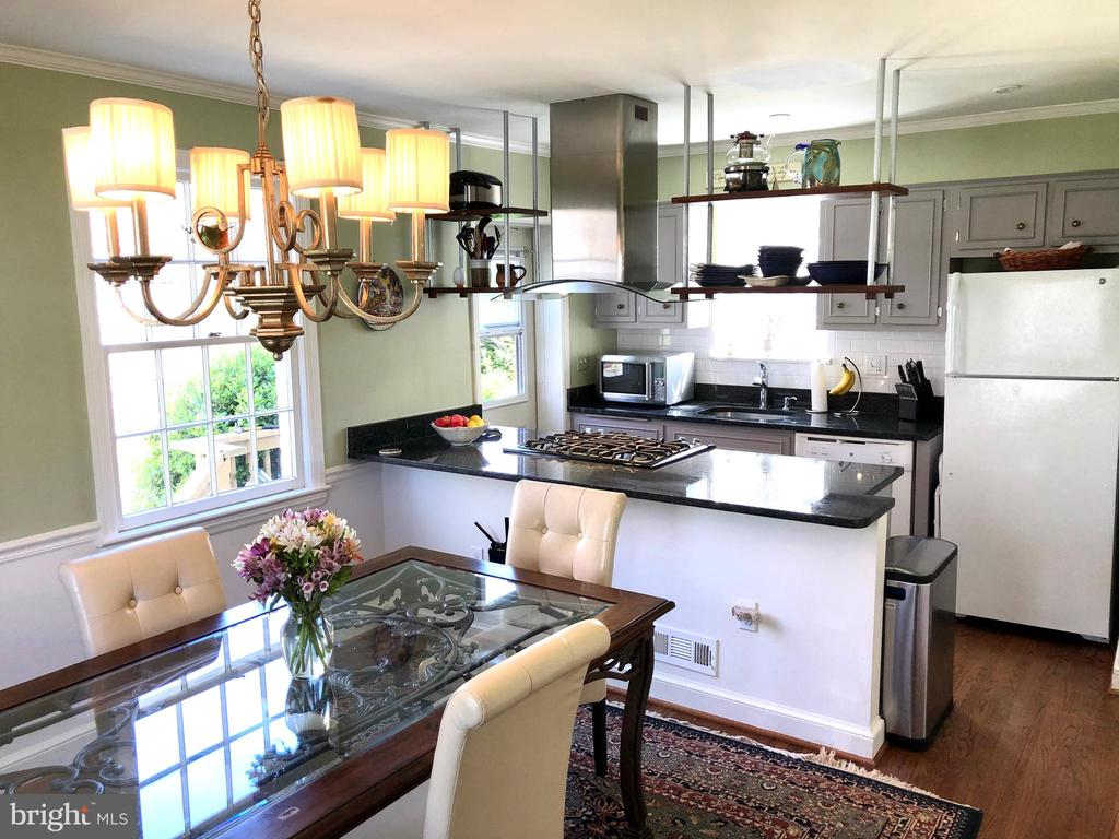 Renovated kitchen - 7411 RIDGEWOOD AVE, CHEVY CHASE