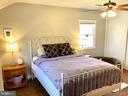 Owner's bedroom with 2 spacious closets - 7411 RIDGEWOOD AVE, CHEVY CHASE