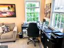 Home office or den on main level - 7411 RIDGEWOOD AVE, CHEVY CHASE