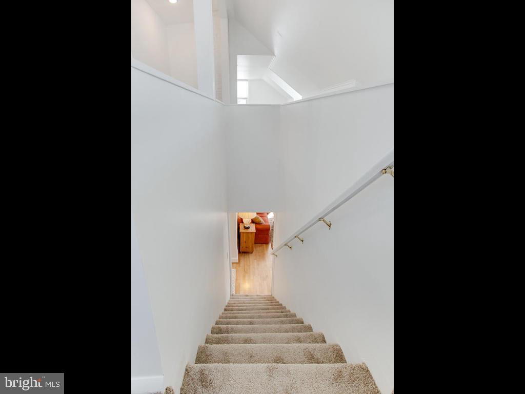 Stairwell to the 1st floor! - 6808 PICKETT DR, MORNINGSIDE