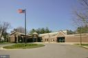The Lawton Community Center & Town office nearby - 7411 RIDGEWOOD AVE, CHEVY CHASE
